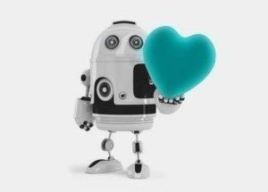 Roboter Social Media