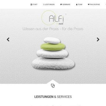 ALFI-MED Webdesign