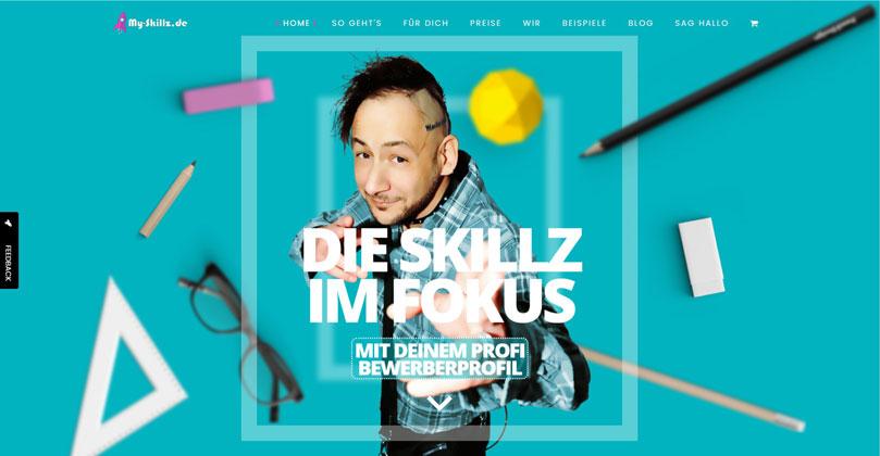 My Skillz | Webdesign für Bewerber