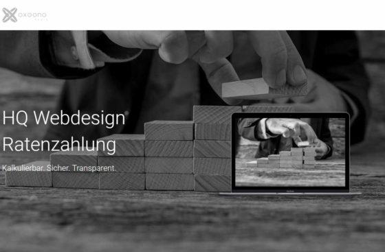 Webdesign Ratenzahlung | Webdesign Referenz