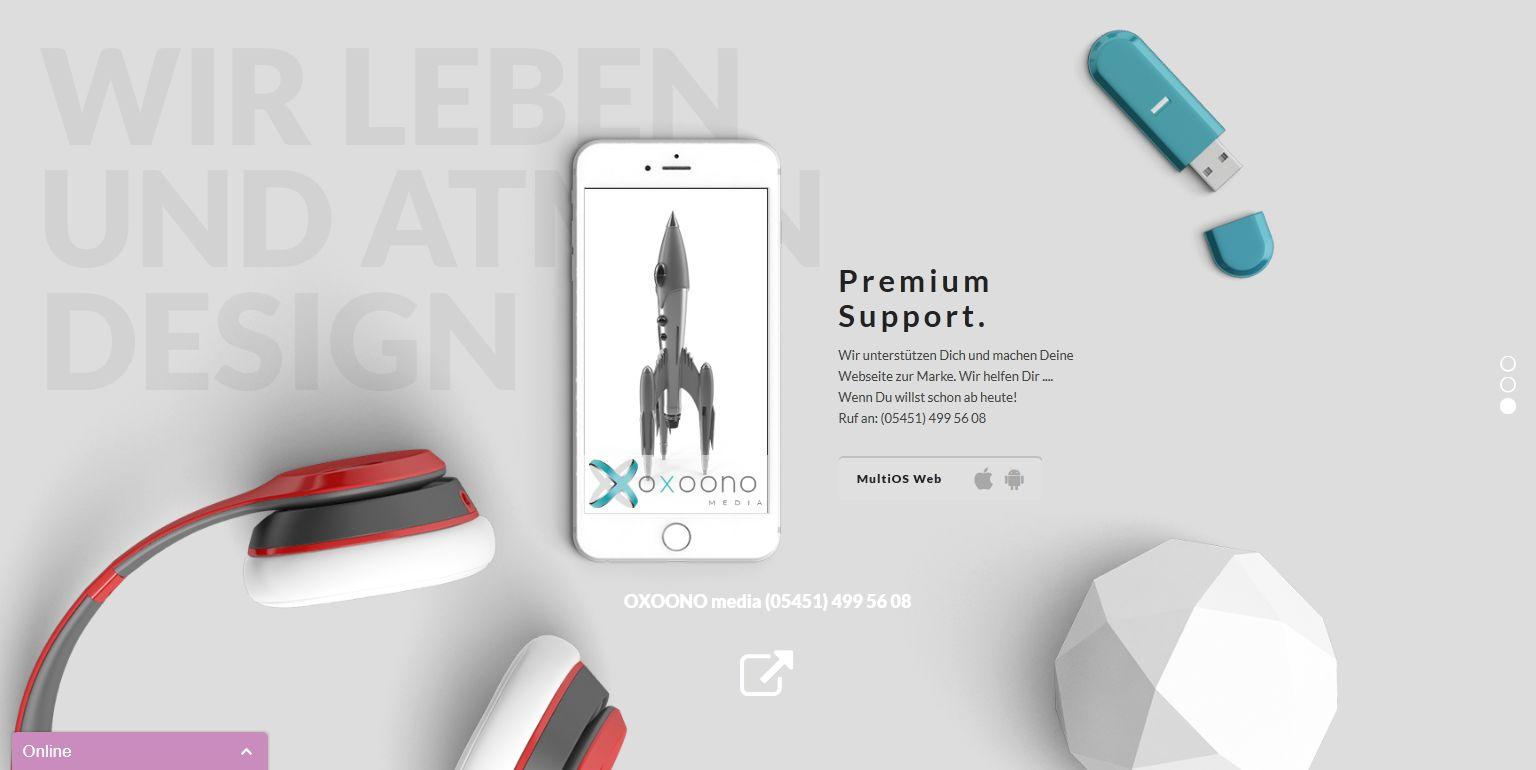Webdesign Ibbenbüren NRW Screenshot2