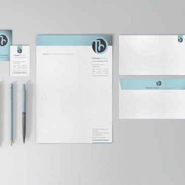 Thomas Drüen Steuerberater Corporate Design
