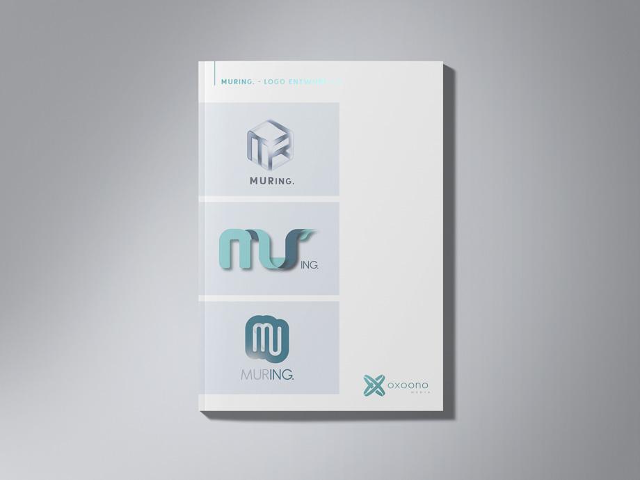 Muring Logo Design Entwürfe 1-3