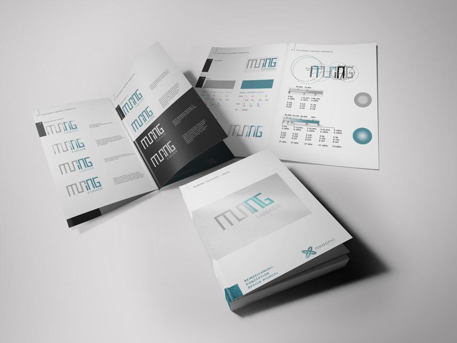Muring Logo Design Reinzeichnung