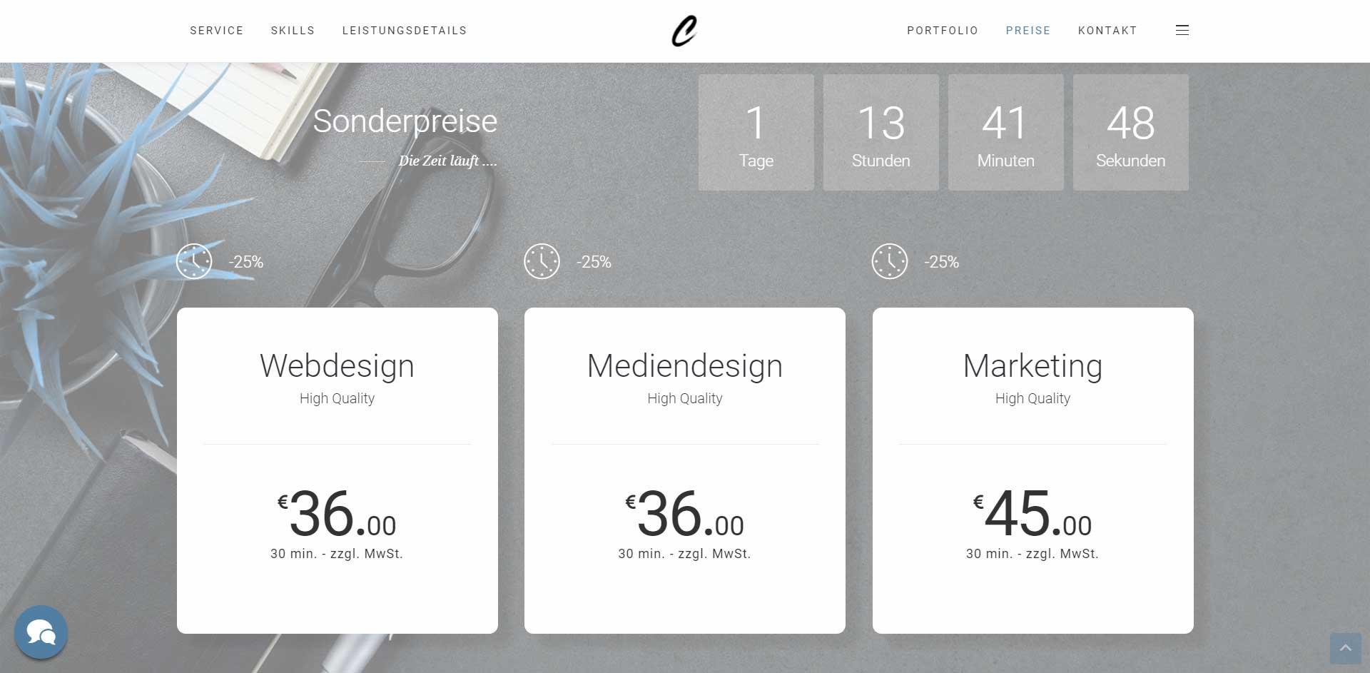 Carsten Schophuis | Webdesign Referenz