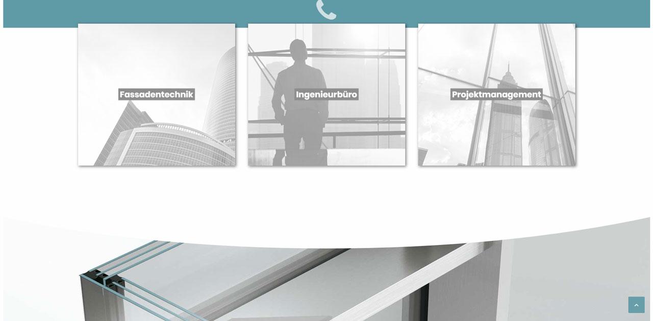 MURING Fassade - WordPress Webdesign Referenz
