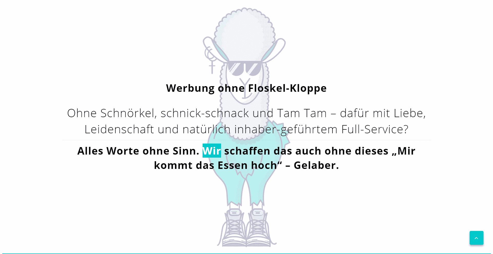 Werbeagentur Ibbenbüren - WordPress Webdesign Referenz