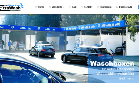 XtraWash - SB Autowäsche | WordPress Webdesign Referenz